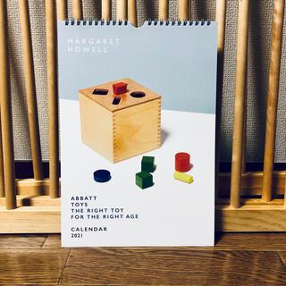 マーガレットハウエル(MARGARET HOWELL)の【新品】マーガレットハウエル オリジナルカレンダー(壁掛タイプ)(カレンダー/スケジュール)