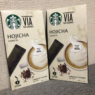 スターバックスコーヒー(Starbucks Coffee)のスターバックス ヴィア ほうじ茶  VIA ★2箱 (コーヒー)