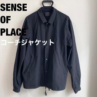 センスオブプレイスバイアーバンリサーチ(SENSE OF PLACE by URBAN RESEARCH)のセンスオブプレイス SENSE OF PLACE コーチジャケット(ブルゾン)
