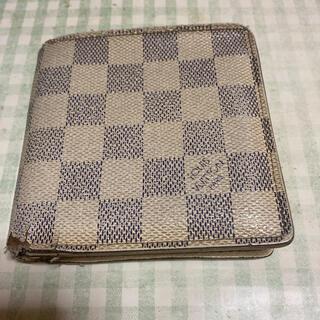 ルイヴィトン(LOUIS VUITTON)のルイビトンダミエ二つ折り財布(折り財布)