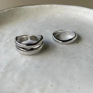 smooth irregular and wave ring
