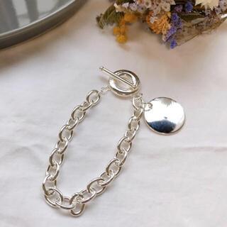 BEAUTY&YOUTH UNITED ARROWS - silver 925 stud chain bracelet