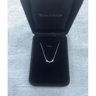 Tiffany & Co. - TIFFANY★スマイルネックレス