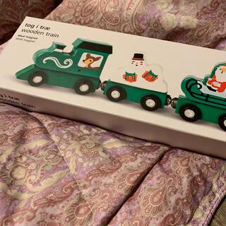 フライングタイガーコペンハーゲン(Flying Tiger Copenhagen)のフライングタイガークリスマス磁石付き汽車(電車のおもちゃ/車)