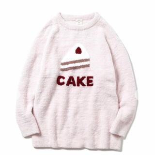 ジェラートピケ(gelato pique)のジェラートピケ パウダー デザート ケーキ プルオーバー ピンク(ルームウェア)