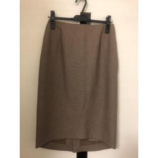 マルティニークルコント(martinique Le Conte)のマルティニークタイトスカート美品(ひざ丈スカート)