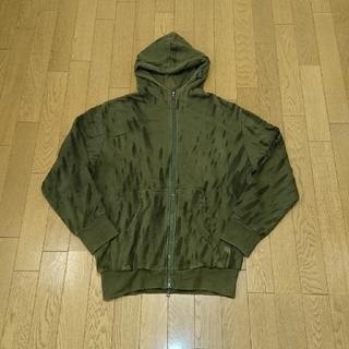 フューチュララボラトリーズ(FUTURA LABORATORIES)のfutura  side logo Hooded Sweatshirt パーカー(パーカー)