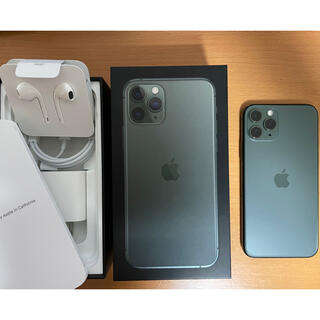 iPhone - iPhone 11 Pro 64GB ミッドナイトグリーン SIMフリー