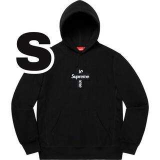 Supreme - SブラックSupreme Cross Box Logo Hoodedパーカー