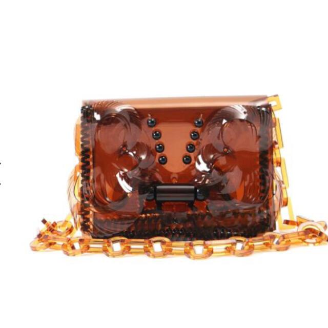 mame(マメ)のmame  kurogouchi BAG*ブラウン レディースのバッグ(ショルダーバッグ)の商品写真