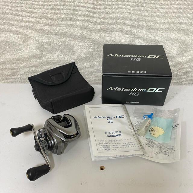 SHIMANO(シマノ)の15メタニウム DC HG 右ハンドル スポーツ/アウトドアのフィッシング(リール)の商品写真