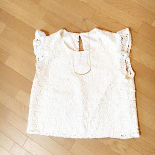 スライ(SLY)のスライ♡美品♡花柄レーストップス(Tシャツ(半袖/袖なし))
