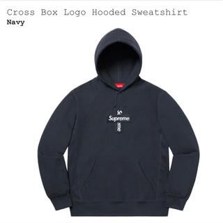 Supreme - 【M】Cross Box Logo Hooded Sweatshirt