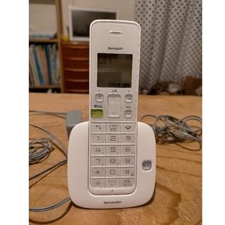 SHARP - シャープ デジタルコードレス電話機 JD-S07CL-ホワイト
