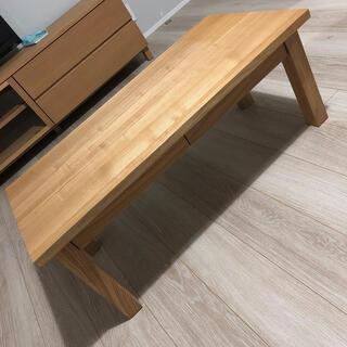 ムジルシリョウヒン(MUJI (無印良品))の無印良品♡センターテーブル (コーヒーテーブル/サイドテーブル)