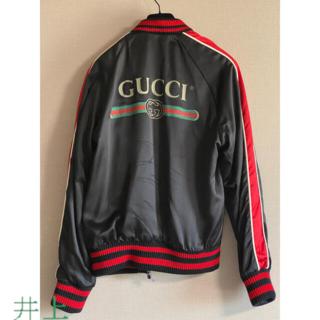 PIAGET - Gucci 18SS メンズ Spiritismo シルク ボンバージャケット