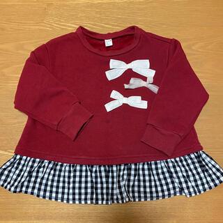 エフオーキッズ(F.O.KIDS)のアプレレクール 裏シャギートップス 100(Tシャツ/カットソー)