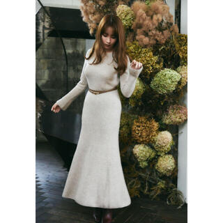 snidel - herlipto♡Wool and Cashmere Blend Dress