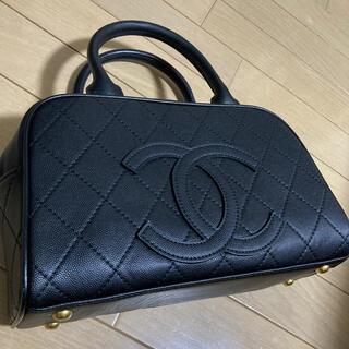 可愛い黒のミニボストンバッグ