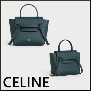 celine - 【CELINE】 PICO BELT BAG IN GRAINED CALFSK