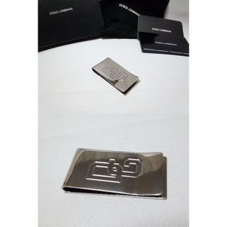 ドルチェアンドガッバーナ(DOLCE&GABBANA)の正規美 廃盤 DOLCE&GABBANA ドルガバ DGロゴマネークリップ 財布(マネークリップ)
