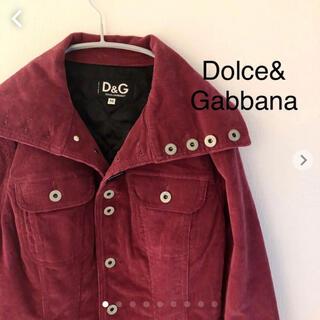 ドルチェアンドガッバーナ(DOLCE&GABBANA)のDolce&Gabbana ドルチェ&ガッバーナ コーディロイジャケット(ブルゾン)