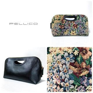 ペリーコ(PELLICO)の■新品 2019AW 定4.6万 ペリーコ PELLICO バッグ ゴブラン(ハンドバッグ)