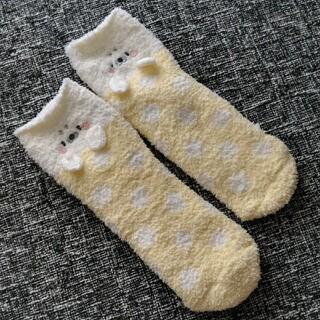 チュチュアンナ(tutuanna)のチュチュアンナ もこもこ ルームソックス レッグウォーマー 靴下 アザラシ(ソックス)