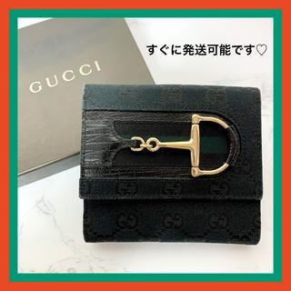Gucci - 【超!!希少カラー】美品♡ グッチ シェリーライン 2つ折り財布