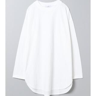 ジーナシス(JEANASIS)のJEANASiS ジーナシス ラウンド ヘム BASIC ロンT 921000(Tシャツ(長袖/七分))