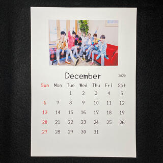 BTS  防弾少年団  2021年 カレンダー