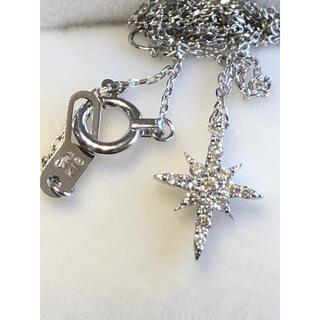 STAR JEWELRY - スタージュエリー クロッシングスター k18 ダイヤモンドネックレス