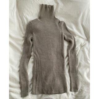 MUJI (無印良品) - 無印良品 タートルネック セーター
