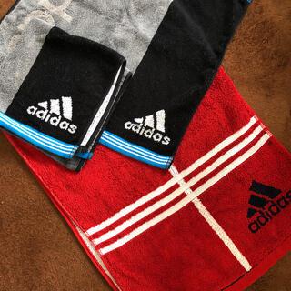 アディダス(adidas)のadidasタオル3枚セット(タオル/バス用品)