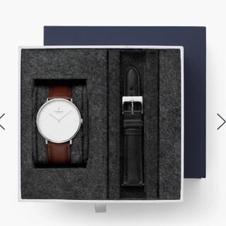 ダニエルウェリントン(Daniel Wellington)の腕時計 Nordgreen Native ノードグリーン  レザーストラップ(腕時計)
