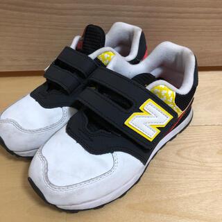 ニューバランス(New Balance)のニューバランス  キッズ 18.5㎝ ディズニー ミッキーコラボ (スニーカー)