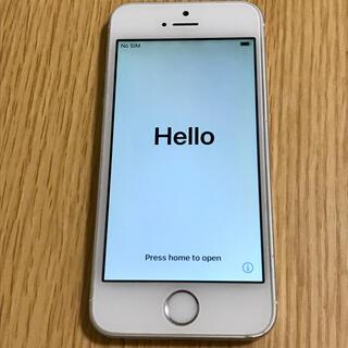 iPhone - iPhone SE 初代 Silver 64 GB SIMフリー