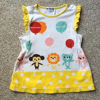 ムージョンジョン(mou jon jon)の動物Tシャツ 80(Tシャツ)