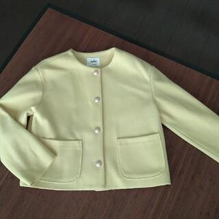 コウベレタス(神戸レタス)の専用です。パールボタンジャケットとチェックカットソーのセット(テーラードジャケット)