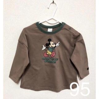 フタフタ(futafuta)のフタフタ futafuta レトロ ミッキー Tシャツ 95(Tシャツ/カットソー)