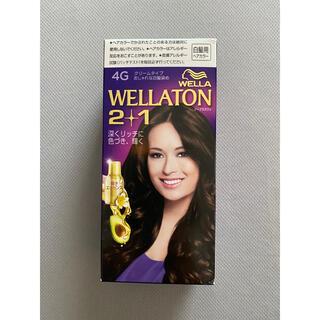 ウエラ(WELLA)のウエラトーン2+1 クリームタイプ 4G(白髪染め)