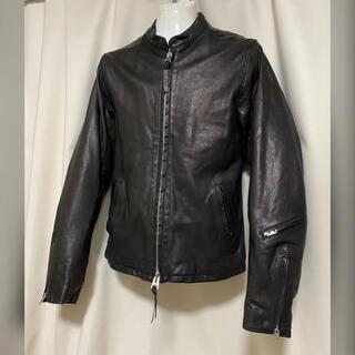 グラム(glamb)の定価46200円 glamb グラム シングルレザーライダースジャケット 1 S(ライダースジャケット)