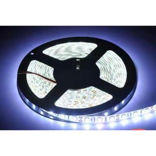 LEDテープライト白ベース5050両面テープ5m防水300ストリップライト(白)(天井照明)