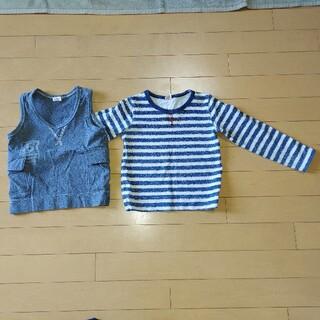 アカチャンホンポ(アカチャンホンポ)のカットソー、ベストセット100サイズ(Tシャツ/カットソー)