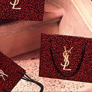 イヴサンローランボーテ(Yves Saint Laurent Beaute)の【単品】YSL ノエル ギフトバッグ イヴ・サンローラン (ショップ袋)