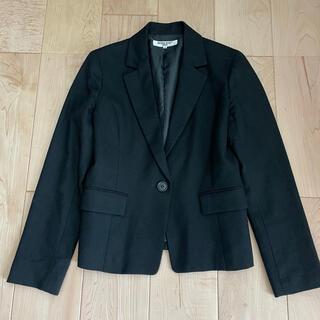 ナチュラルビューティーベーシック(NATURAL BEAUTY BASIC)のNBB  テーラードジャケット  M 黒(テーラードジャケット)