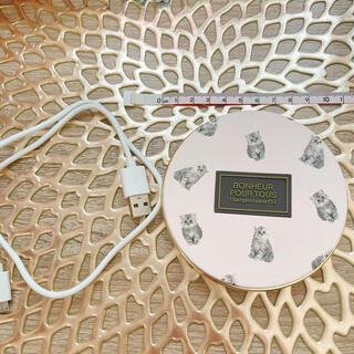 フランフラン(Francfranc)のフランフラン Francfranc 充電器(バッテリー/充電器)