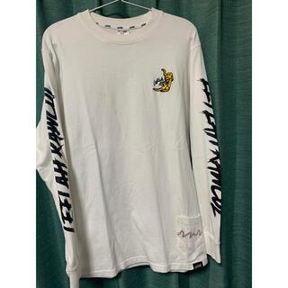ワニマ(WANIMA)のLEFLAH tiger刺繍 ロンT(Tシャツ/カットソー(七分/長袖))