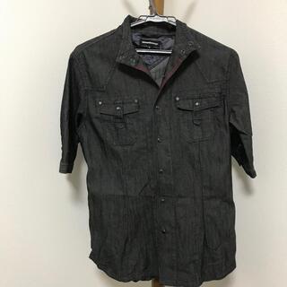 セマンティックデザイン(semantic design)のセマンティックデザイン  シャツ ブラック S(Tシャツ/カットソー(七分/長袖))