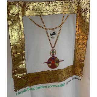 ヴィヴィアンウエストウッド(Vivienne Westwood)の希少 1992 ロイズ銀行 コラボ ジャイアントオーブ額縁 L/Sシャツ(Tシャツ(長袖/七分))